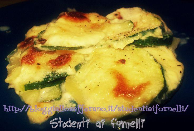 Tortino di patate e zucchine | Ricetta light