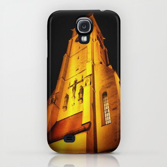 Church at Night iPhone & iPod Case by AngelEowyn. $35.00