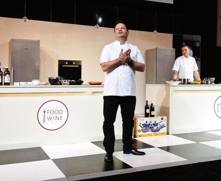 Our favourite MasterChef judge at the Good Food & Wine Show