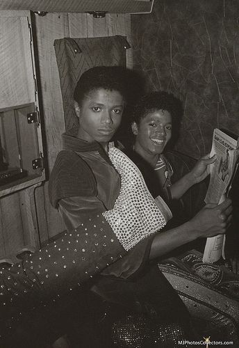 Michael Jackson - The King of Style, Pop, Rock and Soul! - Backstage, Triumph Tour, 1981. @carlamartinsmj