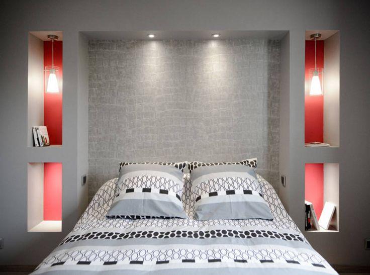 Aménagement et décoration de chambres à Lentilly : Chambre moderne par Marion Lanoë Architecte d'Intérieur