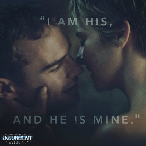 "While keeping an eye out for the release of ""Allegiant -- Part 1,"" discover the top five love moments between Shailene Woodley and Theo James as the ""Divergent"" series' lead characters, Tris and Four."