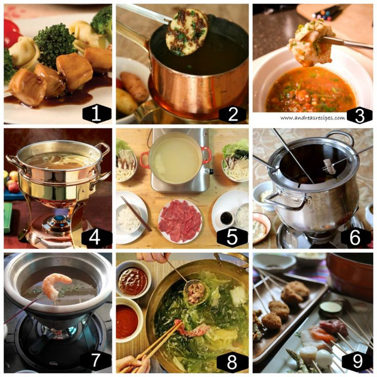 Charming Fondue Dinner Party Ideas Part - 6: Meat Fondue Menu Recipes
