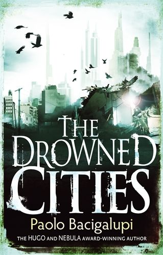 The Drowned Cities - Paolo Bacigalupi. In a dark future America that has devolved into unending civil wars, orphans Mahlia and Mouse barely escape the war-torn lands of the Drowned Cities, but their fragile safety is soon threatened and Mahlia will have to risk everything if she is to save Mouse, as he once saved her.