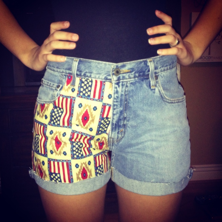 diy jean shorts diy pinterest ropa