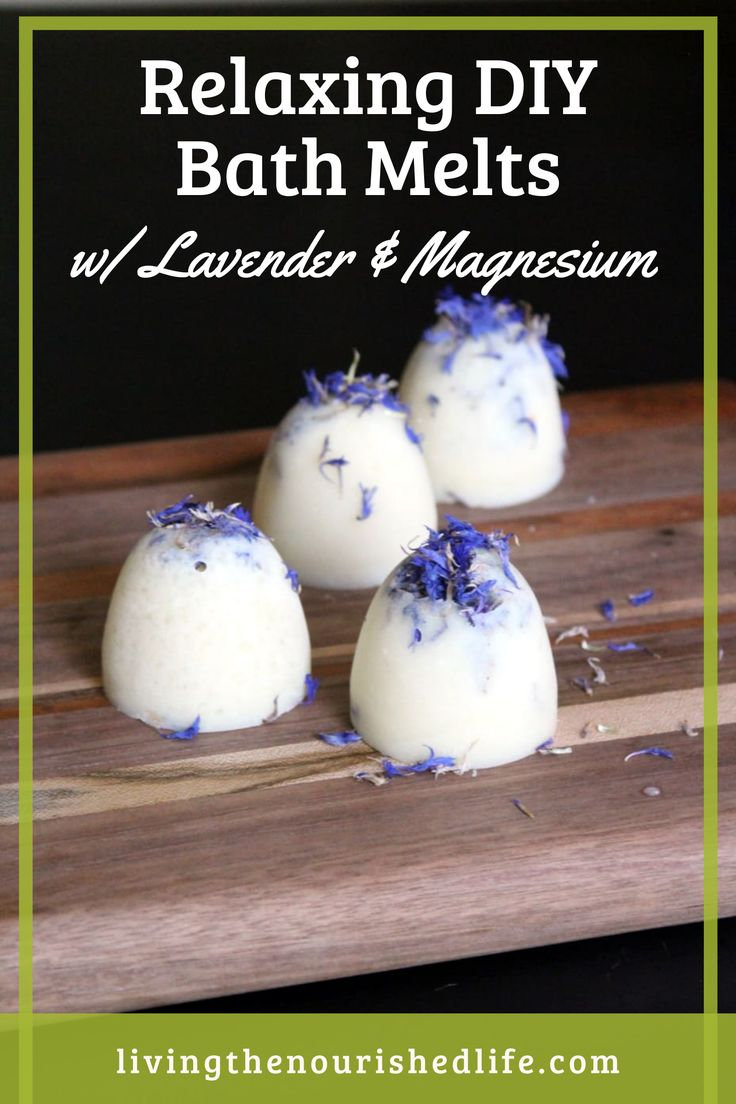I created this simple three-ingredient lavender and magnesium bath melts recipe that not only feels incredibly luxurious…