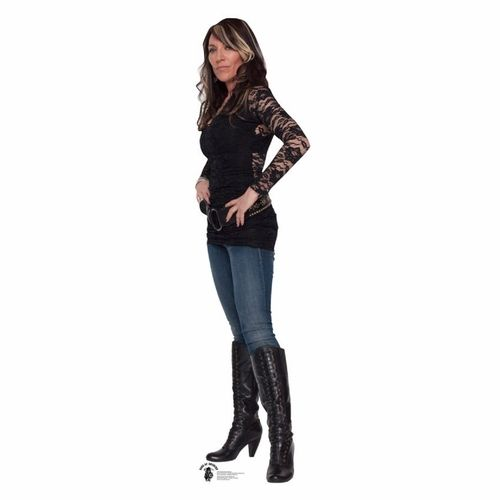 Check out this great Gemma Teller Morrow-Sons Of Anarchy Standup It will add unique flare to any room you put it in. A lifesized standup is the perfect way to add a unique item to your decorating. Our collection of life sized stand ups, standees, fat heads, and cutouts is second to none, whether you are looking for a great character from Hollywood's past or the present cardboard standups you have come to the right place. All of our standups are made of cardboard and come unassembled. Some…