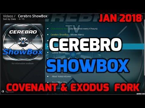 🔥 CEREBRO SHOWBOX 🔥 COVENANT/EXODUS REPLACEMENT -THE BEST KODI