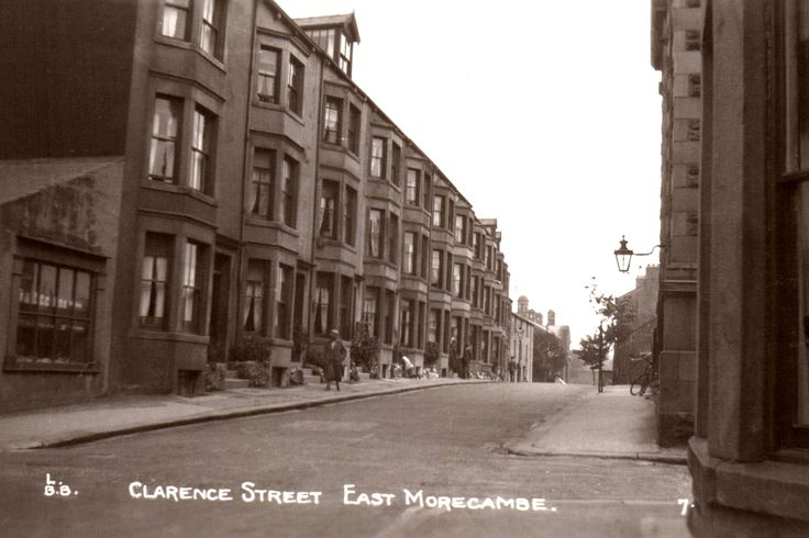 Clarence Street.  Morecambe.