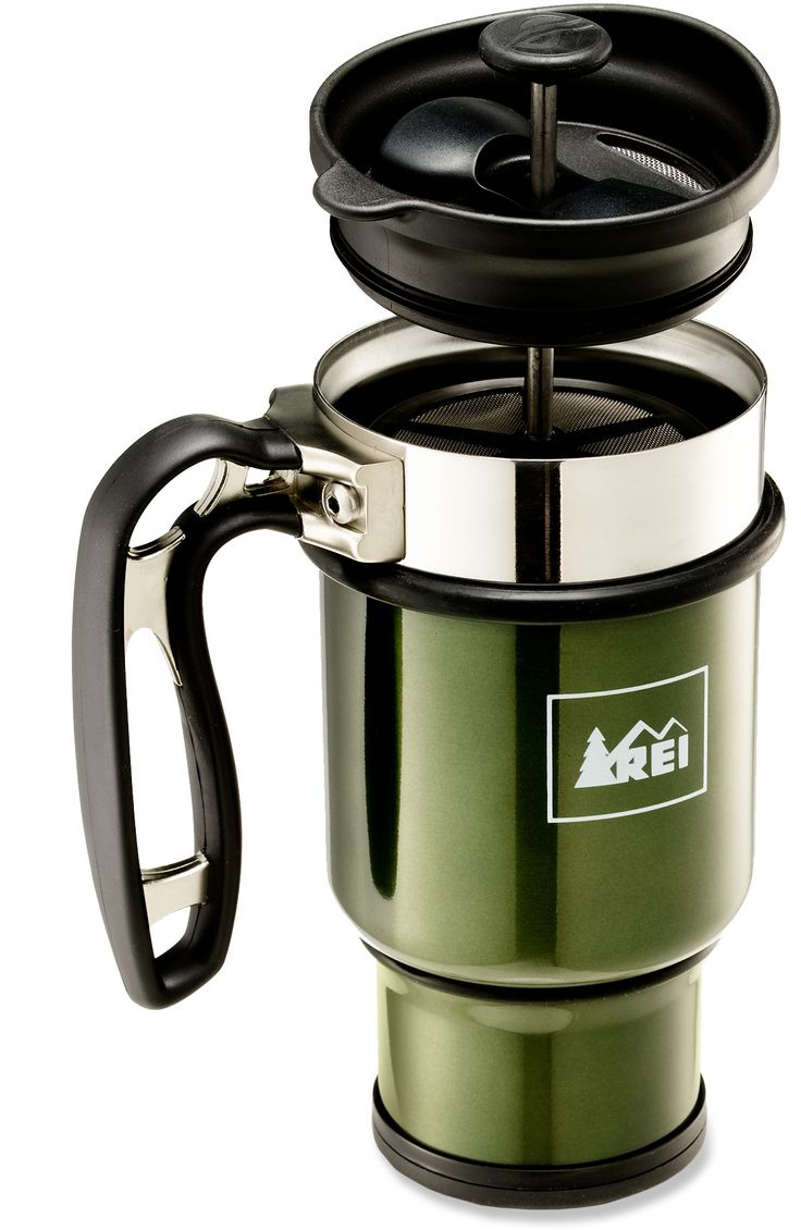 Thermos Meets French Press — REI Double Shot Press Mug