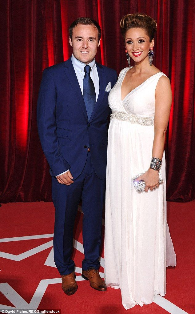 Sad news: Alan Halsall and Lucy-Jo Hudson have split after seven years of marriage. The couple - who have a two year old daughter - married in 2009 after meeting on the set of Coronation Street