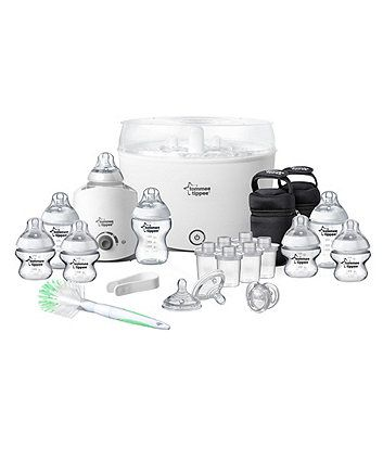 Exclusive to Mothercare, the Philips AVENT Complete Natural Starter Set has everything a breastfeeding mum needs.