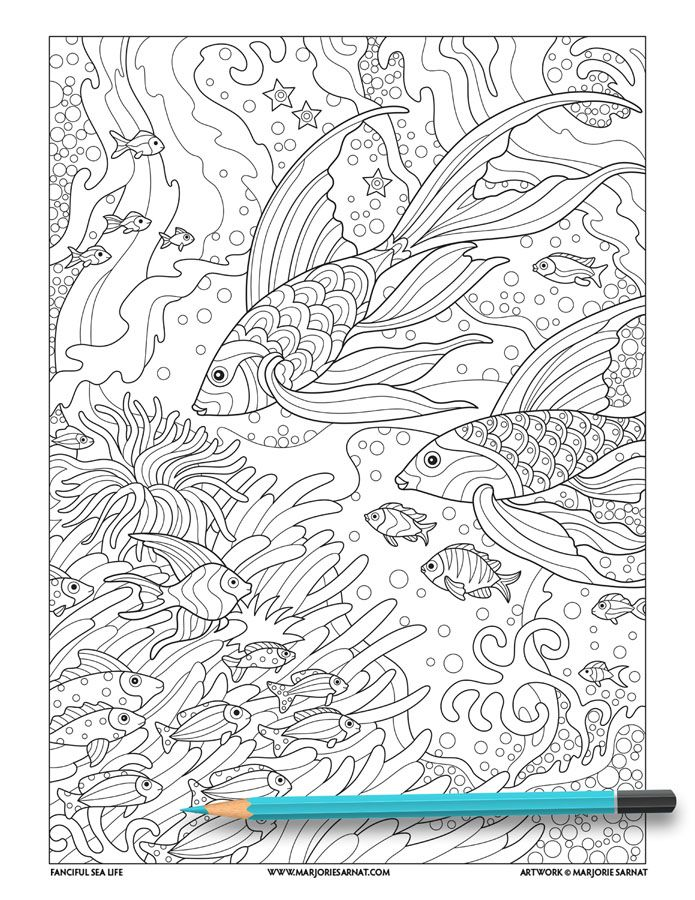tropical fish  fish coloring page animal coloring pages