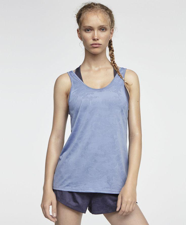 Camisa jacquard con top interior - Workout - DEPORTE | OYSHO España