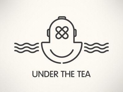 Under the Tea logo design