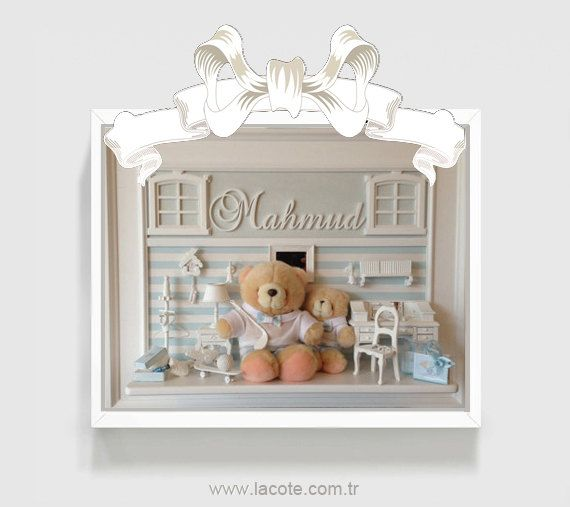 blue nursery art baby girl nursery decor girl by LACOTEKIDS, $495.00