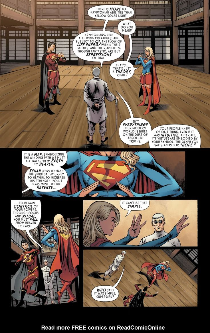 Supergirl (2016) Issue #14 - Read Supergirl (2016) Issue #14 comic online in high quality