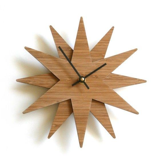 Moravian Star Clock- want