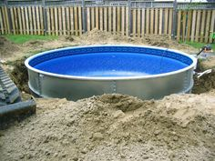 1000 Ideas About Semi Inground Pools On Pinterest Above