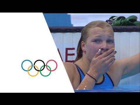 Ruta Meilutyte Wins Women's 100m Breaststroke Gold - London 2012 Olympics - YouTube