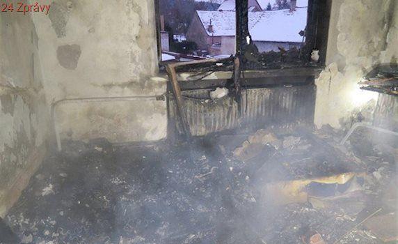 Obývák lehl popelem, patrně kvůli nabíječce elektronické cigarety