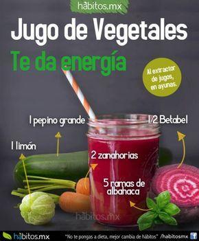Rico jugo para dar energía y para limpiar nuestra sangre!!!