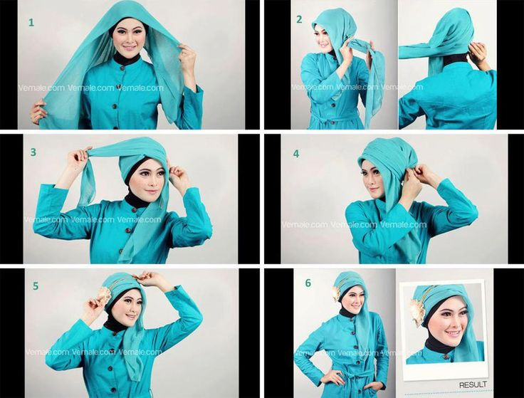 Tutorial Jilbab Paris untuk Acara Semi Formal - Dorie Shop