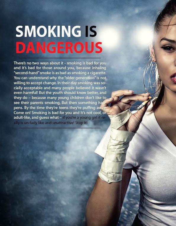 smoking is dangerous