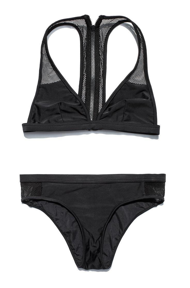 T by Alexander Wang Racerback Bikini Top