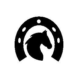silueta herradura de caballo - Buscar con Google