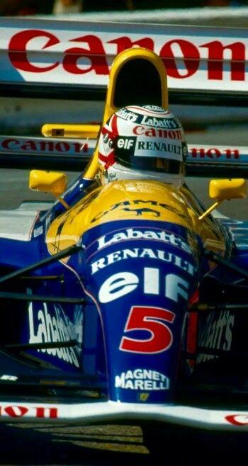Nigel Mansell - Williams FW-14B - 1992 - World Champion!