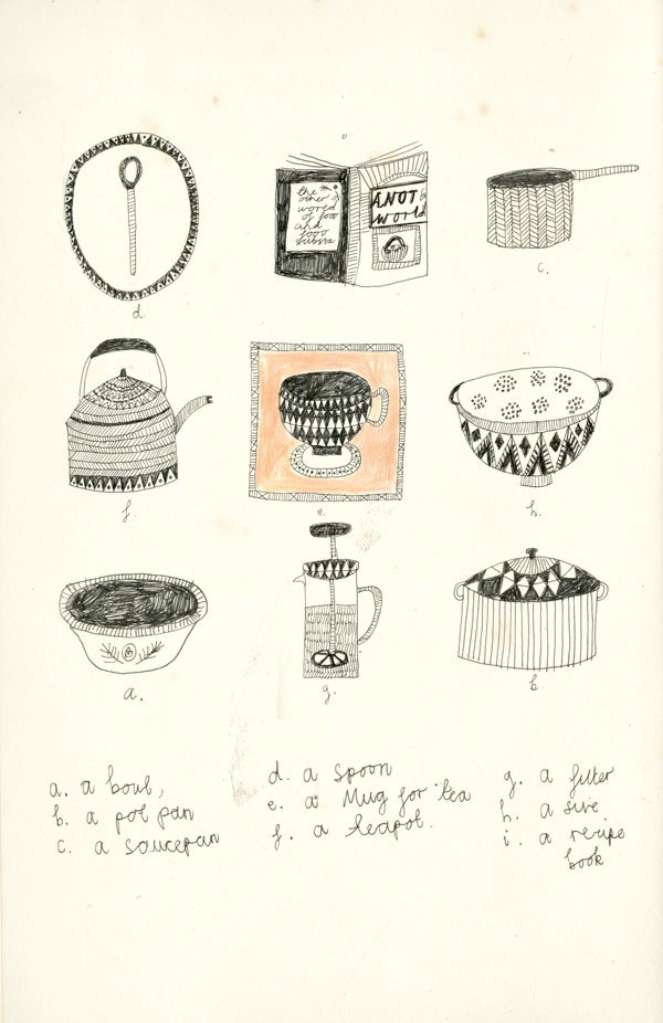 Kitchen items - Katt Frank