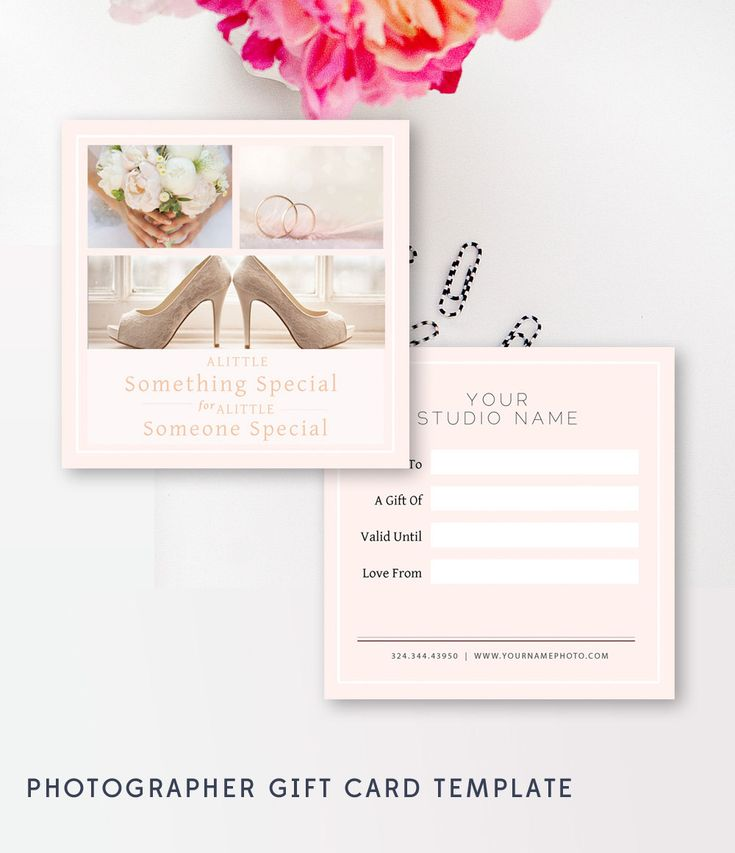 1020 best Marketing \ Design Templates for Photographers images on - photography gift certificate template
