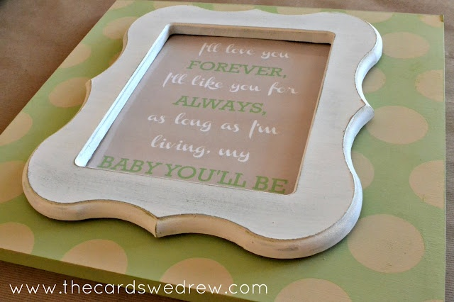 The Cards We Drew: Baby Shower Gift Idea