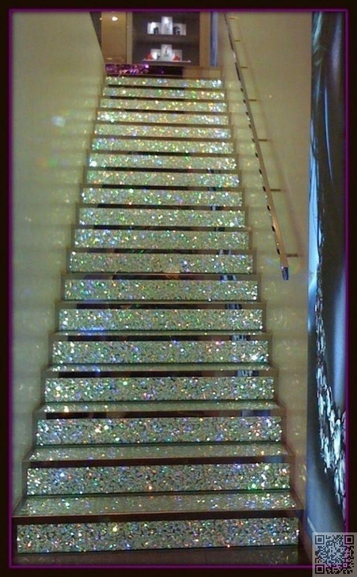 5. #glitter escalier - 37 #crainte inspirants #escaliers que vous aurez #envie de copier dans #votre maison... → #Lifestyle