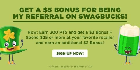 Swagbucks Referral program is a great way to earn gift cards.