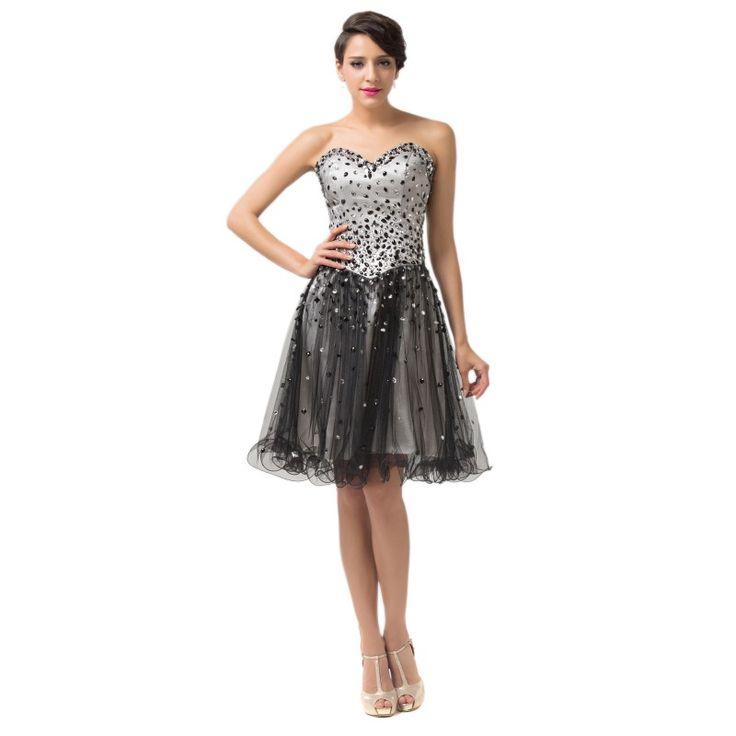Čierne spoločenské šaty CL6137