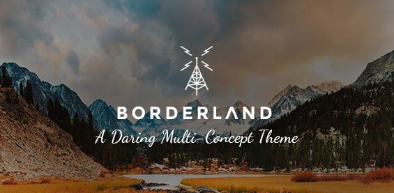 Themeforest – WordPress: Borderland – A Daring Multi-Concept Theme on Themeforest Free Download http://themeforestfreedownload.com