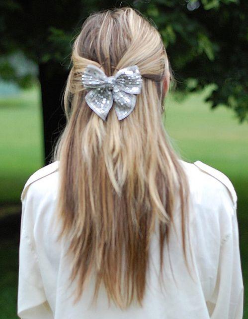 bow: New Hair, Hair Style, Hair Stuff, Hair Doo, Bows Ideas