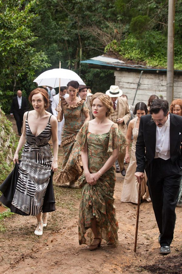 Madeleine Mathers, Alice Whelan and Eugene Mathers - Olivia Grant, Jemima West and Edward Hogg in 'Indian Summers' Season 1, set in 1932 (TV series).