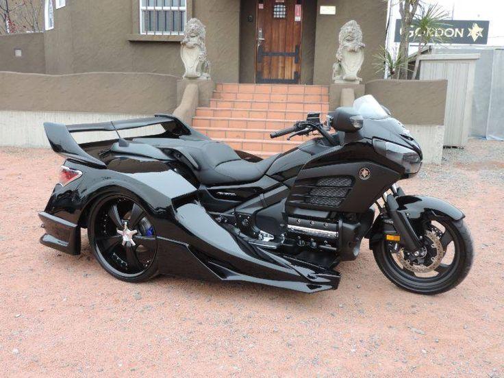 goldwing honda sidecar trike gold wing motorcycle motorcycles wheel f6b touring three reverse bike parts gl gordon