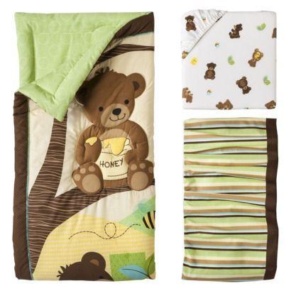 Bedtime Originals Honey Bear 3 Piece Bedding Set