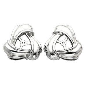 Earring Jacket 14K White Gold Left Earrings-MidwestJewellery. $282.08. 100% Satisfaction Guaranteed. Earring Jacket. 14K White Gold. Left. Base Size = 6