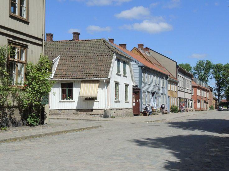Norwegen: Fredrikstad: eine malerische alte Stadt in SüdNorwegen