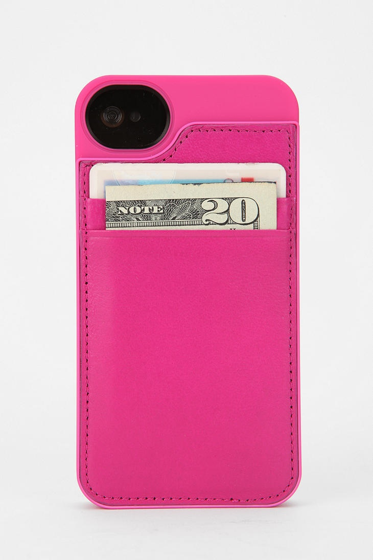 Wallet iPhone4 Case. Brilliant. #urbanoutfitters