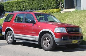 Ford Explorer [3rd generation] (2002–05)