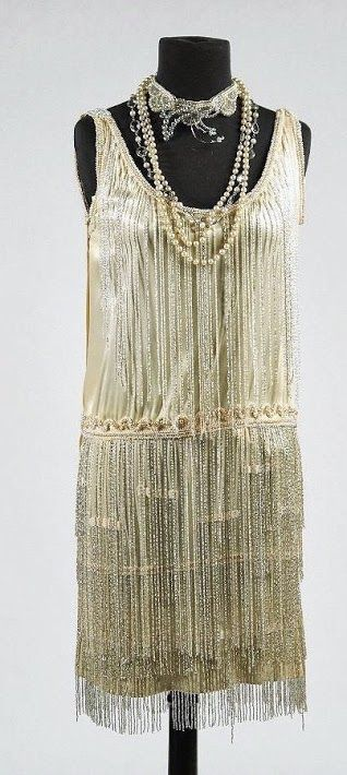 Edith Head Dress (front view) Made for Clara Bow in The Saturday Night Kid c. 1929