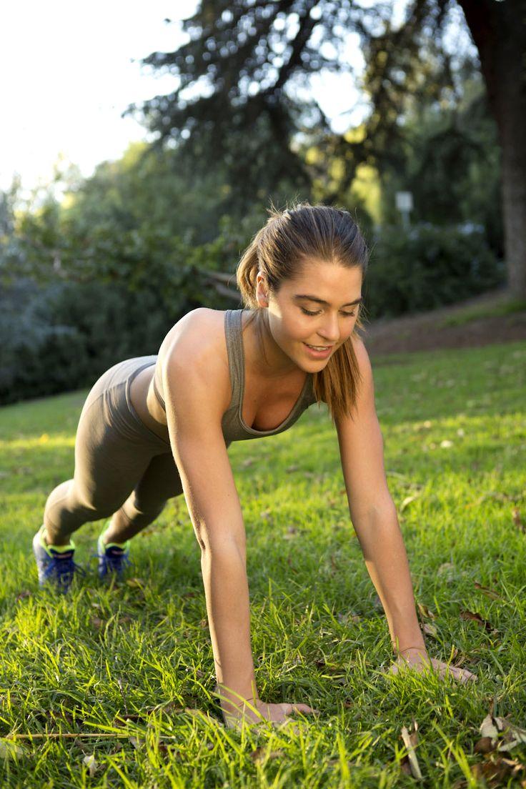 20-minute running hills + strength training = best Summer workout
