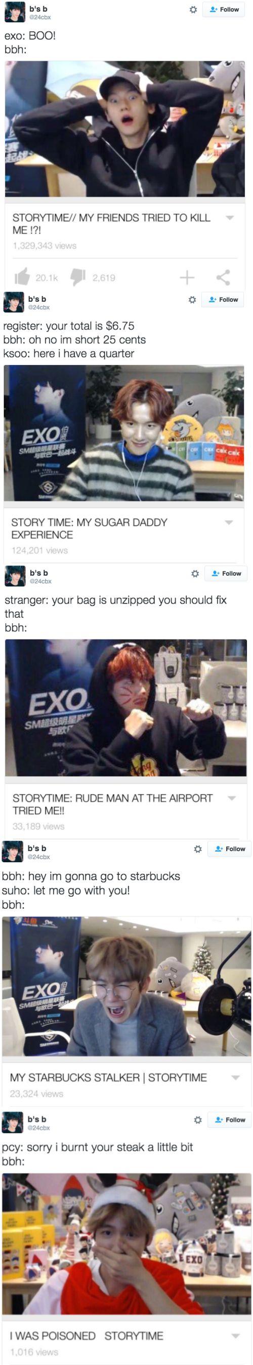 If Byun Baekhyun had a YouTube...