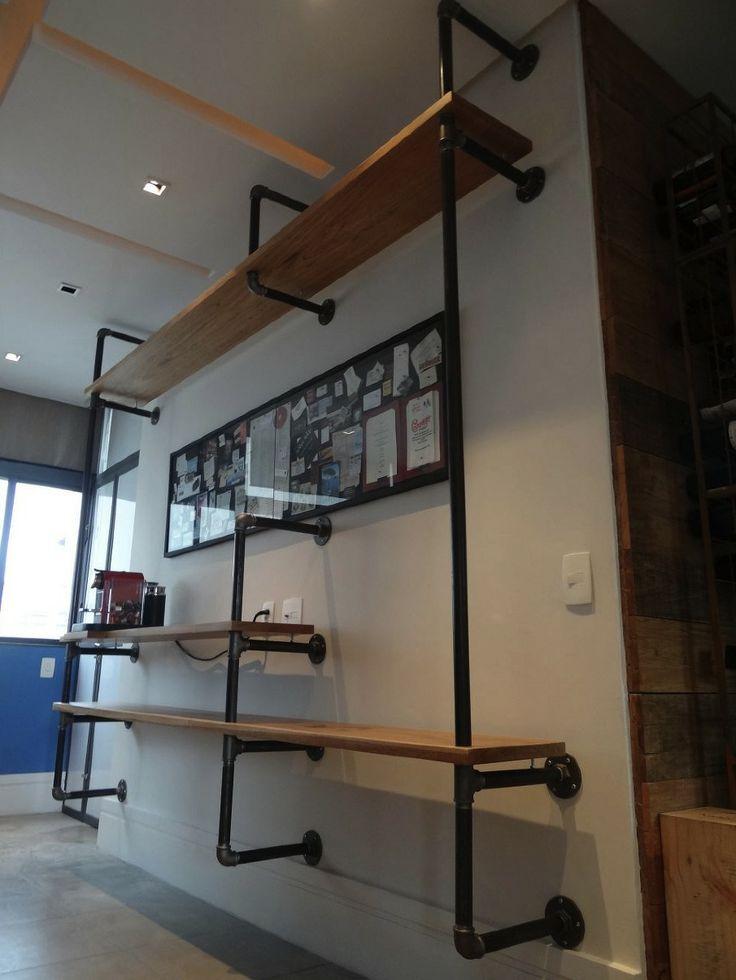 M s de 25 ideas fant sticas sobre estantes de metal en - Estantes de metal ...